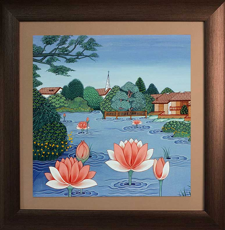 Lotus in Pond #2 by Kumar Lama